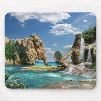 Waterfalls Ocean - mouse PAD