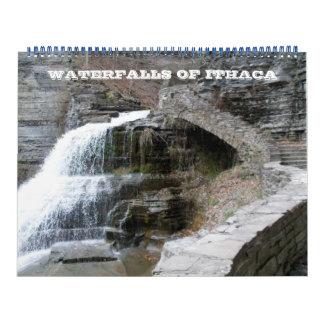 WATERFALLS OF ITHACA  calendar