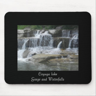 WATERFALLS OF ITHACA mouse pad
