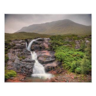 waterfalls of the River Coe Photo Print