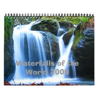 Waterfalls of the World 2009 Calendar