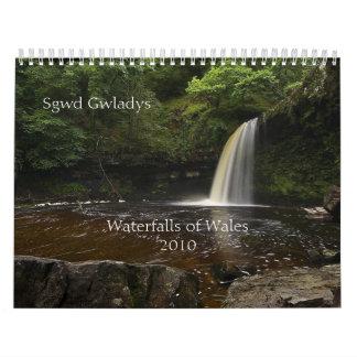 Waterfalls of Wales 2010 Calendar