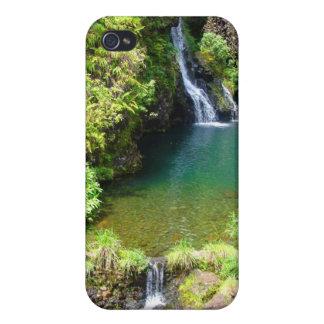 Waterfalls on the Road to Hana, Maui, Hawaii iPhone 4/4S Cases