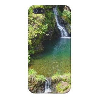 Waterfalls on the Road to Hana, Maui, Hawaii iPhone SE/5/5s Case