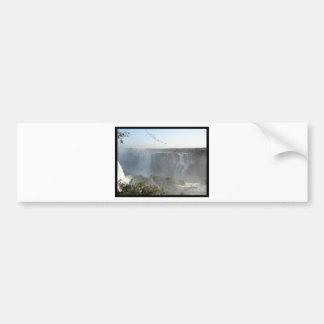 Waterfalls Picture! Iguazu Falls! Bumper Sticker