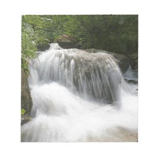 Waterfalls - Pro photo. Note Pad