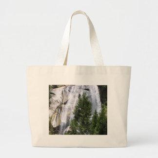 Waterfalls Trees Tote Bags