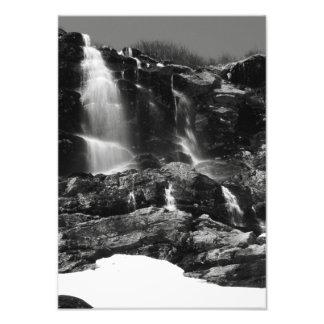 Waterfalls, Tuckermans Ravine, Mt. Washington Photo Print