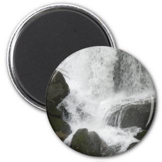 WaterfallSplash052309 2 Inch Round Magnet