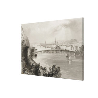 Waterford, Ireland, from 'Scenery and Canvas Print