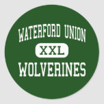 Waterford Union - Wolverines - High - Waterford Sticker