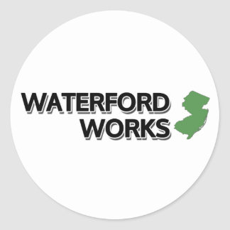 Waterford Works, New Jersey Classic Round Sticker