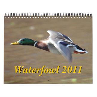 Waterfowl 2011 Calendar