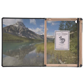 Waterfowl lake along the Icefields parkway, iPad Folio Case
