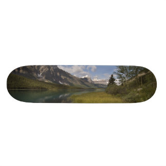 Waterfowl lake along the Icefields parkway, Skateboard Deck