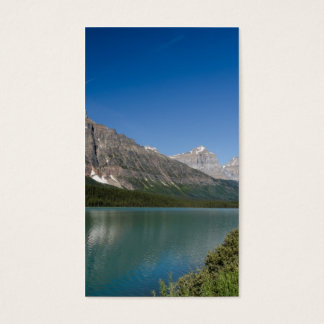 Waterfowl Lakes Icefields Parkway Alberta Canada Business Card