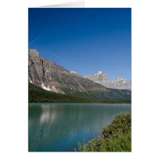 Waterfowl Lakes Icefields Parkway Alberta Canada Card