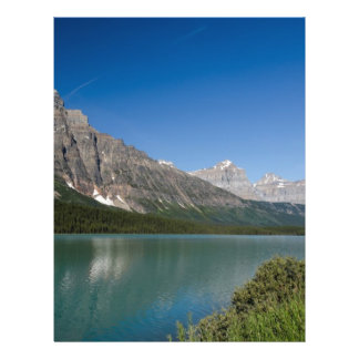 Waterfowl Lakes Icefields Parkway Alberta Canada Full Color Flyer