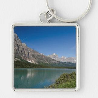 Waterfowl Lakes Icefields Parkway Alberta Canada Keychain