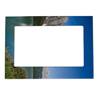 Waterfowl Lakes Icefields Parkway Alberta Canada Magnetic Photo Frame