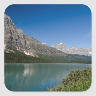 Waterfowl Lakes Icefields Parkway Alberta Canada Square Stickers