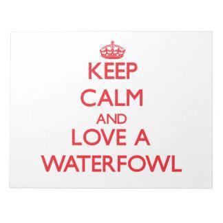 Waterfowl Memo Pads