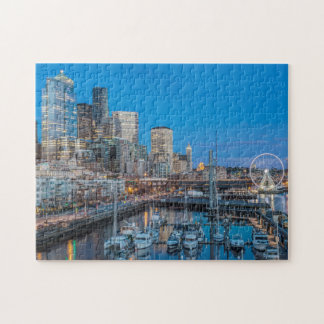 Waterfront and Downtown Jigsaw Puzzle