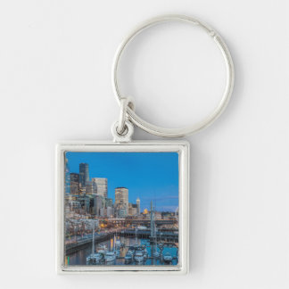 Waterfront and Downtown Keychain