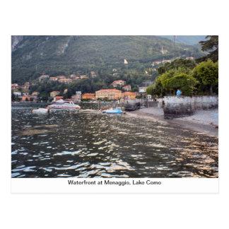 Waterfront at Menaggio, Lake Como Postcard