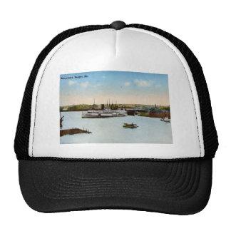 Waterfront, Bangor Maine 1915 Vintage Trucker Hat