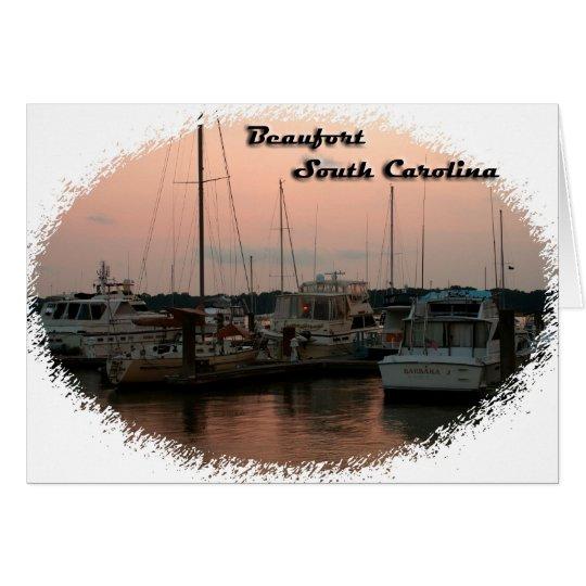 Waterfront, Beaufort, SC Card