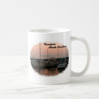 Waterfront, Beaufort, SC Coffee Mug