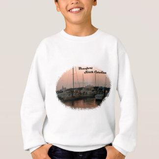 Waterfront, Beaufort, SC Sweatshirt
