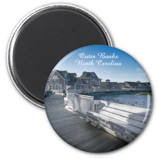 Waterfront Boardwalk Magnet - Outer Banks, NC