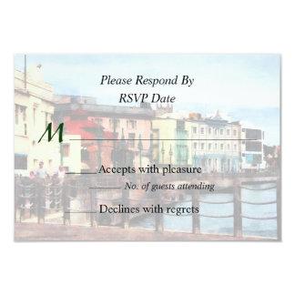 Waterfront Bridgetown Barbados Wedding Products Card