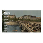 Waterfront, Campione, Italy classic Photochrom Business Card