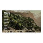 Waterfront, Campione, Italy classic Photochrom Business Cards