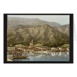 Waterfront, Campione, Italy classic Photochrom Greeting Cards