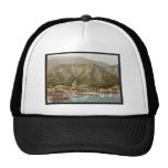Waterfront, Campione, Italy classic Photochrom Trucker Hats