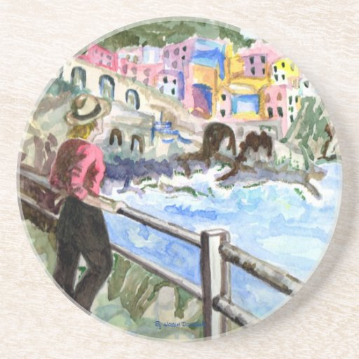 Waterfront Drink Coasters Designer Gifts Zazzle