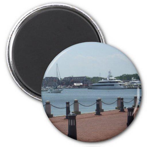 Waterfront Fridge Magnets