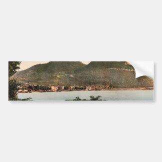 Waterfront, Garda, Lake of, Italy classic Photochr Bumper Sticker