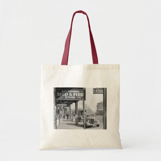 Waterfront in New Orleans. French market Budget Tote Bag