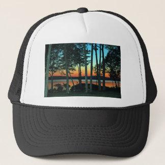 Waterfront Sunset Trucker Hat