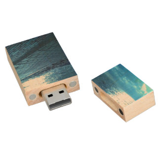 Waterfront Sunset, USB flash drive