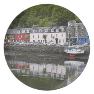 Waterfront, Tobermory, Isle of Mull, Scotland, 2 Dinner Plate