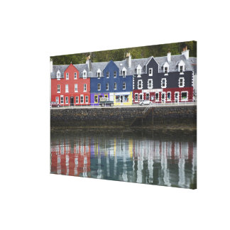Waterfront, Tobermory, Isle of Mull, Scotland, Canvas Print