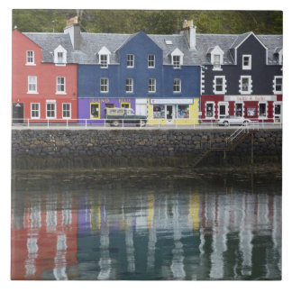 Waterfront, Tobermory, Isle of Mull, Scotland, Ceramic Tile