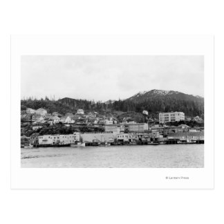 Waterfront View of Ketchikan, Alaska Photograph Postcard