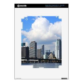 Waterfront view of Miami iPad 3 Skins